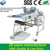 Компьютер подшивая и выстегивая линию автоматическую швейную машину Placket