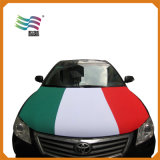 Tampa nacional feita sob encomenda da capa do carro da tela de Lycar para a bandeira da campanha