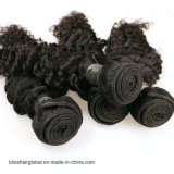 Glücks-Haar-brasilianisches Jungfrau-Haar-tiefe Wellen-Menschenhaar-Webart 100%