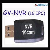 Le dongle USB GV-NVR pour 16 caméras IP de canal