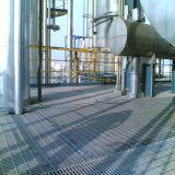 Rejilla de acero galvanizado en caliente para las plataformas