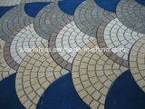 Granit-Würfel, die Granit-Steine pflastern