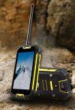 Telefoon van de Kern van de Vierling van de Walkie-talkie Smartphone van 4.5 Duim van de fabriek de In het groot Ruwe Handbediende Waterdichte Androïde Mobiele