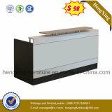 (HX-5N421) mostrador de recepción Oficina de mesa de madera blanca MFC Muebles de Oficina