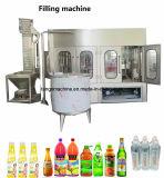 Completare la macchina imballatrice imbottigliante di riempimento della bottiglia di frutta della bevanda di chiave in mano del succo