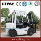 Chinese Mini 2 Ton Gasoline / LPG Forklift com Nissan Engine