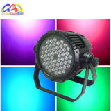 高品質54X3w RGB RGBA RGBW屋外LEDの同価ライト防水段階の照明