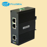 Switch Ethernet Industrial com 1 Fe e 2 portas Tx