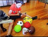 Футбол дешевой миниой игрушки шарика PVC установленный, баскетбол, рэгби