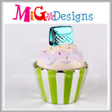 Cupcake Cup Cake artesanía de cerámica Piggy Money Bank