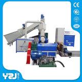 Lixo plástico que recicl a máquina com sistema de controlo do PLC