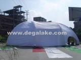 ' a barraca branca inflável gigante da abóbada 40 para a igreja personalizou