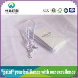 Corde de l'emballage en PVC blanc Étiquette d'impression papier