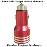 Шэньчжэнь Kingjage портативный двойной порт автомобильного зарядного устройства USB