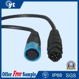 Connettore impermeabile autobloccante IP68 con cavo per illuminazione del LED