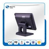 """O MSR RFID Faniess Tela sensível ao toque de 15"""" opcional Windows POS Máquina (HZQ-T9150)"""