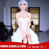 Brust-Liebes-Puppe-reale lebensgrosse Geschlechts-Spielwaren der Silikon TPE-Geschlechts-Puppe-148cm weiche grosse
