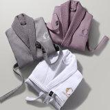 China Towel Factory Made OEM Client Coton Blanc Hôtel Peignoir