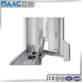 Vuelta de aluminio de cristal cubierta polvo blanco Windows Wih As2047 de la inclinación del marco