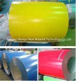 Толь цены по прейскуранту завода-изготовителя цвета Ral свертывает спиралью Coated катушку нержавеющей стали Aluzinc