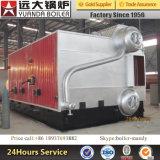 Déchet de bois de haute performance/cosse de riz/chaudière à vapeur allumée par biomasse avec la chambre de Reburning de tailles importantes