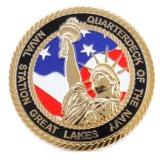 주문 금 둥근 미국 기념품 동전