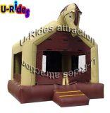 Handelspferden-aufblasbarer Prahler-aufblasbares Trampoline-Schlag-Haus für Kinder