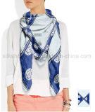 女性のための100%の絹の大きい正方形のスカーフ110 * 110cm