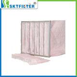 Taschen-Beutelfilter des Luftfilter-F6 für Wasser-Filtration