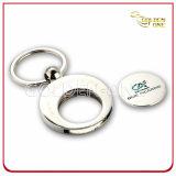 Kundenspezifische Einkaufswagen-Metalllaufkatze-Münzen-Halter-Schlüsselkette