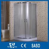 Cabine de vente chaude de douche de la Pologne en verre foncé