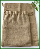 Umweltfreundlicher Jutefaser-Leinwand-Reis-Beutel