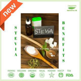 Natürliche Stoffstevia-Tabletten in der Zufuhr