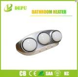 Lámparas eléctricas 825W del calentador tres del cuarto de baño del aparato electrodoméstico