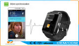Teléfono elegante del reloj de Bluetooth de las ventas al por mayor