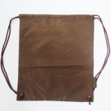210d refrescan el morral de nylon del bolso de lazo del poliester de Brown (D-705)