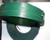 緑の黒いカラーPVC上塗を施してあるWire/PVC鉄ワイヤー