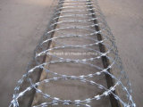 Crossed Coil Concertina Razor Barbed Wire