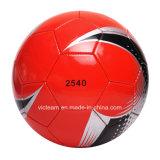 Negocio de alto brillo máquina cosida fútbol OEM