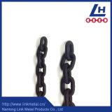 Colore dell'acciaio legato G80 verniciato frustare catena