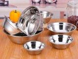 Aço inoxidável 18/8 Mirror Polishing Mixing Bowl / Soup Bowl