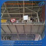 Lector RFID de control de acceso de largo alcance en el sistema de aparcamiento