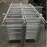 Gerade Stahljobstep-Strichleiter für Ringlock Gestell