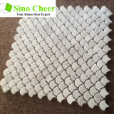 Мраморный плитки мозаики Bianco Carrara плитки мраморный/мозаика украшения