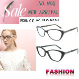 Moda Gafas China Wholesale Acetato Marcos ópticos con Ce y FDA