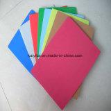 Helle Farbe flexibles elastisches EVA-Schaumgummi-Blatt für EVA-Sohlen