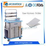 Carrello del farmaco dell'ospedale di anestesia/carrello Emergency caldo (GT-TA2130)