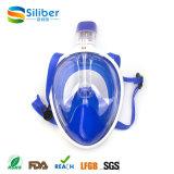 Máscara protetora cheia do silicone adulto do mergulho, máscara do mergulho de Gopro