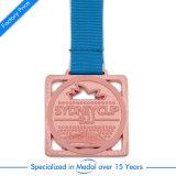 Druckguss-Metallmarathon-Kupfer-Ehrenmedaillen-Goldabzeichen-Preis