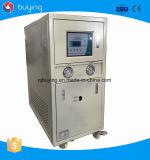 저온 5HP 5kw 물에 의하여 냉각되는 일폭 산업 냉각장치